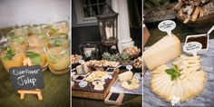 Weddings at the Lyman Estate, Cocktail Hour, Estate Wedding, Wedding Spread, Wedding Appetizers