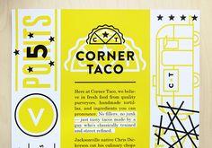Taco Identity & Menu - Caitlin Robinson   Designer