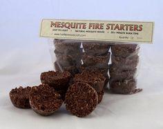 Handmade Mesquite Fire Starters