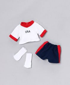 American Girl clothes - $9 for this doll soccer outfit today on zulily.