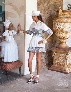 Brasil inspirando a alta moda!  Até A L'Officiel holandesa se inspirou nas ruas de Salvador para seu ensaio com Lais Ribeiro!   Fonte: Pinterest 90's High Fashion