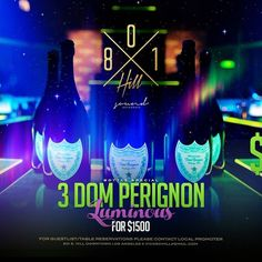 Lets Pop some #domperignon Tonight (3) for $1500 or Mix n Match 4 Bottles (#goldlokvodka #jameson #ciroc #greygoose) for $1000 Open bar till 1030pm General Admission 21 Guestlist Available before 11PM 8182006751  #801hillnightclub #PlayhouseHollywood #OhmNightClub #OhmHollywood #ProjectLA #1OakLA #skyfridays #PlayhouseThursday #Warwick #lejardin #LureSaturdays #ArgyleHollywood #Lurefridays #Belasco