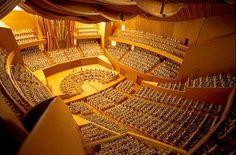 Walt Disney Concert Hall - Interior (Better known as My Practice Room)