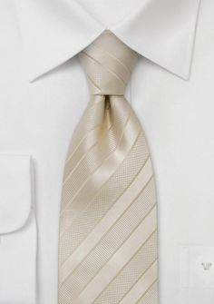 Groomsmen Accessories - Neckties, Ties, Cravats | Weddington Way G could wear a champagne tie with a black suit.  That would go nicely