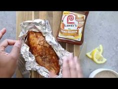 Pineapple Honey Bourbon Grilled Catfish Recipe - A simple yet flavorful summer grilled fish recipe made with just a few ingredients including Lawry's honey bourbon marinade. It is perfect for work days or weekend entertaining! Grilled Catfish Recipes, Tilapia Recipes, Grilled Fish, Grilled Salmon, Seafood Recipes, Salmon Fish Tacos, Honey Bourbon, Sunday Recipes, Fries In The Oven