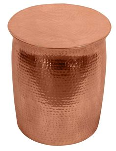 Zora Drum Table - Copper – IDC