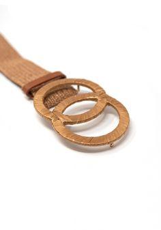 Ζώνη Miss Pinky ψάθα με στρογγυλές αγκράφες - Miss Pinky Fashion Accessories, Belt, Bracelets, Womens Fashion, Leather, Jewelry, Belts, Bangles, Jewellery Making