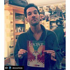 Lucifer - TV Series News, Show Information - FOX #regram @dccomics ・・・ The man himself! @luciferonfox @officialtomellis #lucifer #jan25th2015 #dccomics #vertigocomics On sale Tomorrow! - See more at: http://www.fox.com/lucifer#sthash.JBIuZxog.dpuf