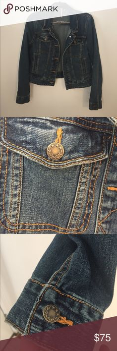 Free People Denim Jacket Soft and thick denim jacket from Free People. Excellent condition, it's like new. Medium wash denim. It's too big for me which is why I'm selling. It's literally the perfect jean jacket. Free People Jackets & Coats Jean Jackets