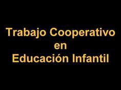 Trabajo cooperativo en Infantil - YouTube Company Logo, Camera Phone, Youtube, Cooperative Learning, Coops, Educational Technology, Social Skills, Still Camera