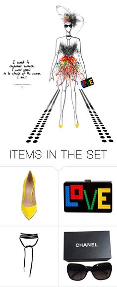 """""""LOVE"""" by christine-sacco ❤ liked on Polyvore featuring art"""