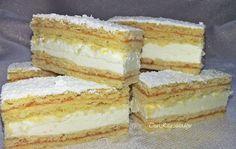Pfirsich-Fantasiewürfel im Eta-Stil - Tészta - Desserts Oreo Cupcakes, Hungarian Recipes, Sweet And Salty, Winter Food, Vanilla Cake, Nutella, Cake Recipes, Food And Drink, Cooking Recipes