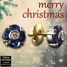 Earrings | Arracades | Pendientes Bracelet Watch, Merry Christmas, Jewels, Bracelets, Accessories, Sapphire Earrings, Glow, Jewel, Diamonds