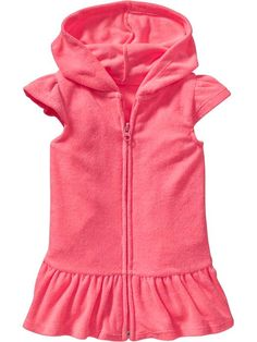 743406eb8e Hooded Terry Swim Cover-Ups for Baby Product Image Towel Dress