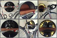 """""""Wallhalla"""" bike hangup/bike rack."""