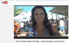 Thunder Beach Rally in Panama City 2013 Video -- http://www.lightningcustoms.com/thunder-beach-fall.html -- #ThunderBeachRally #ThunderBeachRallyInPanamaCity #RallyInPanamaCity