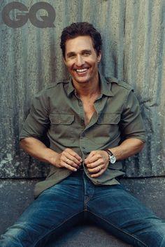 """Alright, alright, alright! Matthew McConaughey covers GQ - GQ.COM (UK)"""