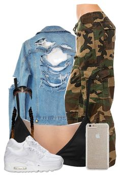 """""""Untitled #430"""" by reyan ❤ liked on Polyvore featuring High Heels Suicide, Rothco, Lavish Alice, Case-Mate and NIKE"""