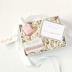 Petite Flower Girl Gift Box