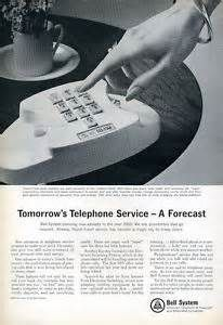 vintage touch tone phone ad