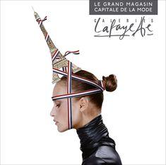 One of our favorite Galeries Lafayette model shots! Yayoi Kusama, Jean Paul Goude, Paris Shopping, French Teacher, I Love Paris, Lafayette, Tour Eiffel, Holiday Destinations, Guide Book