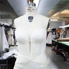gillesmendelStill some bridal dresses in work in the atelier ... #JMendel #OMGilles