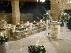 Εξωτερικός στολισμός εκκλησίας – lotos-wedding Table Decorations, Wedding, Furniture, Home Decor, Valentines Day Weddings, Decoration Home, Room Decor, Home Furnishings, Weddings