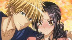 Usui Takumi and Misaki Ayuzawa from Kaichou wa Maid-sama Misaki, Usui, Me Me Me Anime, Anime Love, Vocaloid, Aho Girl, Maid Sama Manga, Yume, Tsubaki Chou Lonely Planet