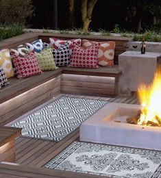 "- Result of image search for ""amenagement salon de jardin buried"" Deck Seating, Backyard Seating, Garden Seating, Outdoor Seating, Outdoor Rooms, Backyard Patio, Outdoor Living, Outdoor Decor, Backyard Projects"