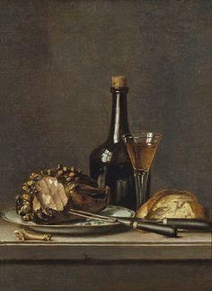 Pehr Hilleström - Still Life - art print, fine art reproduction, wall art Food Painting, Bottle Painting, Nordic Art, Poster Prints, Art Prints, Still Life Art, Still Life Photography, Fine Art Gallery, Wine
