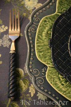 The Tablescaper: Cornflower Blue