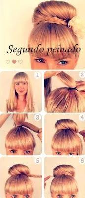 Peinados paso a paso, muy lindos y fáciles de hacer