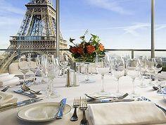 Pullman Paris Tour Eiffel, Paris, France  Dinner with a view...