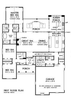 Brodie first floor