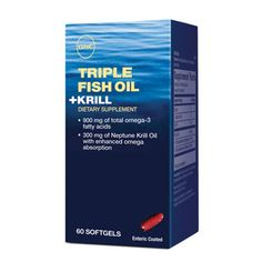 TRIPLE FISH OIL   KRILL