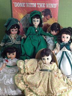 """~ Madame Alexander """"Scarlett O'Hara"""" Dolls ~"""