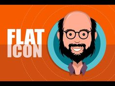 Illustrator Tutorial: Flat Design Avatar or Icon Making Tutorial - YouTube