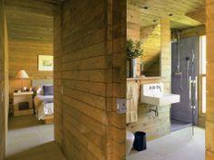 wood and bathroom