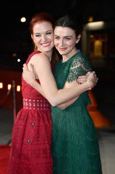 """Sarah Drew Photos - Sarah Drew and Caterina Scorsone attend the Premiere Of Paramount Pictures And Pure Flix Entertainment's """"Same Kind Of Different As Me"""" at Westwood Village Theatre on October 2017 in Westwood, California. - Sarah Drew Photos - 6 of 435 Greys Anatomy April, Greys Anatomy Funny, Greys Anatomy Cast, Ellen Pompeo Friends, April Kepner, Caterina Scorsone, Greys Anatomy Characters, Sarah Drew, Westwood Village"""