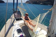 Our trademark is the hammock and all our yachts come equipped with one! Join us in one of our cruises and try it out :)  www.polco-sailing.com