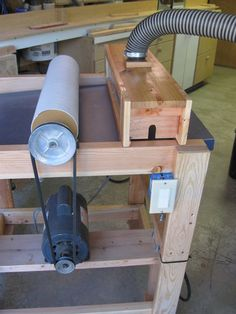 Drum Sander - http://lumberjocks.com/projects/62826