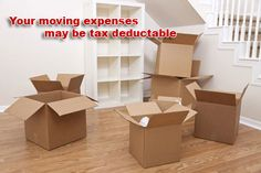 Moving is something that most families will do at least once in their lifetime. If you moved to start a new job, or to seek work in a new city, you may be able to deduct the cost of your moving expenses from your income at tax time. Even full-time student