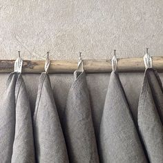Rustic Linen Towels Eco Friendly Kitchen Towels, Pure Linen Towels, Grey  Flax Towels, Organic Linen Tea Towel Made In The US