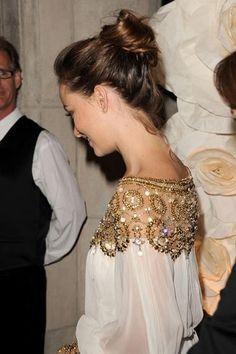 jeweled neckline