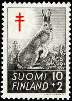 Wild stamp from 1962, an example of how deeply entrenched nature is into Suomi.