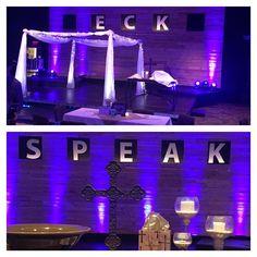 """Wedding to worship & baptism #celebrate #rethinkchurch #40days #speak @cwllumc"""