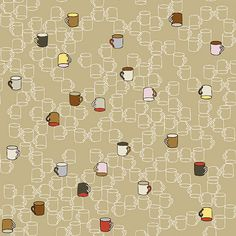 Five o'clock Tea by STOF Fabrics