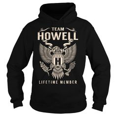 Team HOWELL Lifetime Member - Last Name, Surname T-Shirt