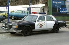 Clic Police Cars Chevrolet Caprice 1987 Usa Chevy