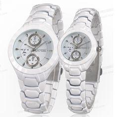 Đồng hồ cặp SINOBI dây đá trắng (+2) – SI009 420.000VNĐ